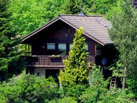 Beautiful house on a very steep hill.  500 meter and you are in the forest.  Acc ...
