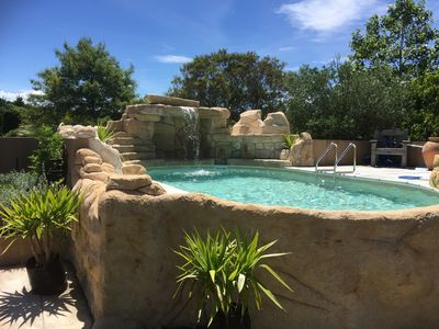 Rock leisure pool for Guests to enjoy