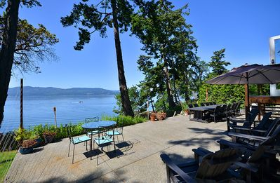 Photo for Victoria Area Deep Cove Ocean Front 5 Bedroom Private Vacation Home