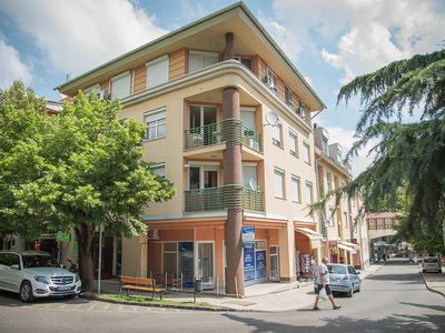 Photo for Thermal bath Heviz Hungary Apartment year-round air conditioning elevator own parking