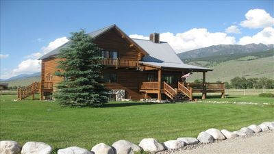 Photo for The Pleasant Pheasant ~ 5 Bedroom Log Home on 20 Acres in Paradise Valley