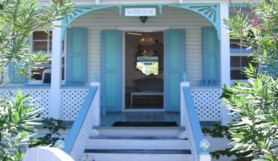WaterColour Front Porch as Photographed in Town & Country Travel