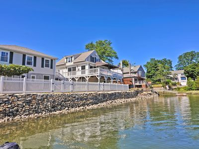 Photo for Beverly, MA 3 BR Home w/ Riverfront Views, WiFi and More!