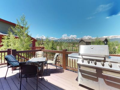 Photo for NEW LISTING! Roomy riverfront home w/hot tub, deck, & mtn views - near slopes