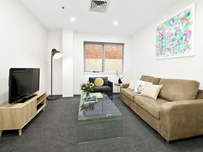 Photo for Fully Furnished 1 Bed Apt 36/187 Collins Street,CBD