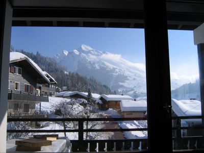 Photo for La Clusaz, Apartment 7 people duplexet quiet, tracks 7mn walk