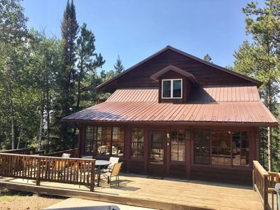 Photo for 6 Bedroom Cabin With Game Room And Private Hot Tub on Terry Peak