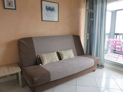 Photo for APARTMENT 2/4 PEOPLE BEAUTIFUL SEA VIEW FROM THE BEACH 30M - 500M CENTER