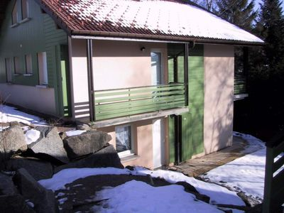 Photo for Residential Chalet Gerardmer 40 m² + pool near lake and town center