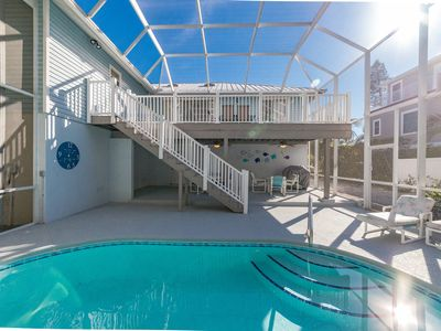 Photo for Blue Bayou: Heated & Caged Pool, Great Location, Only 6 Houses to the Beach!