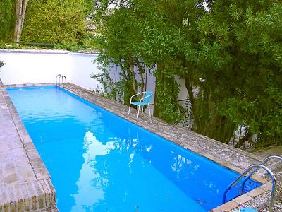 Photo for House in the center of Granada with Parking, Internet, Washing machine, Pool (86907)