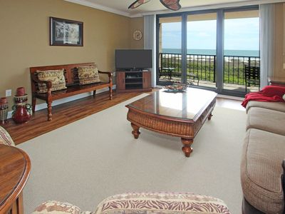 Photo for A relaxing getaway with shared pools and hot tub in an oceanfront villa.