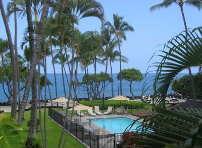 View from the lanai/balcony.