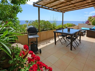 Photo for Studio 5 ***** luxury 2 pers. with magnificent terrace exceptional sea view