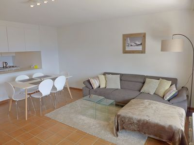 Photo for Beautiful apartment for 3 people with internet, TV, balcony, pets allowed and parking