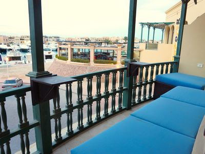 Photo for Stunning 1 Bedroom with Full Marina View-El Gouna