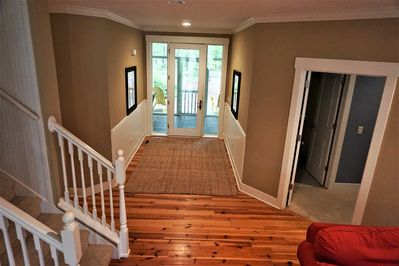 Entryway to a relaxing vacation