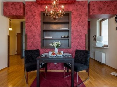 Photo for 1BR Apartment Vacation Rental in Warsaw, Masovian Voivodeship