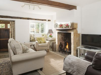 Photo for Wonderful Grade II Cotswold Stone Cottage in Perfect Location