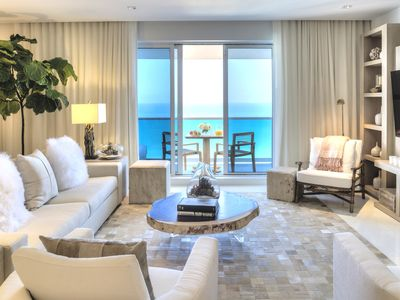 Photo for **5 Star 4/4.5 Direct Ocean Top Floor Penthouse in South Beach