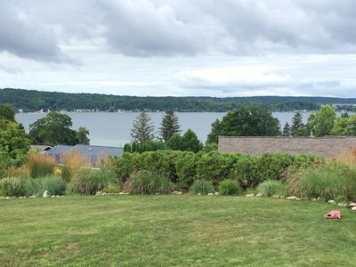 Photo for Spectacular panoramic views of Crystal Lake near downtown Beulah