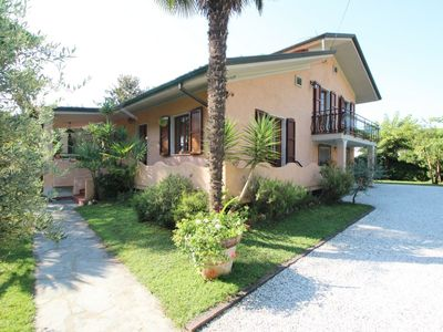Photo for Caterina - Holiday home at 950m from the Sea in pine forest, 6 People, WIFI, Garden