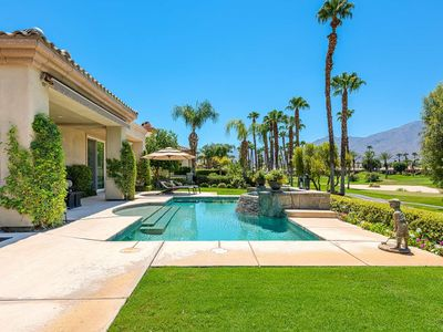 Photo for Beautiful Mnt Views! Private Pool, Cascading Spa & Wifi - PGA West Home on Nick Tournament Course