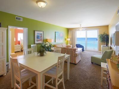 Photo for 3rd FL Corner Unit 2 Master Bedrooms Fabulous Balcony  Free Beach Chairs & WIFI