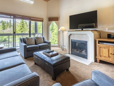 Photo for Quiet Location, Mountain & Golf Course views at Ironwood - Whistler Blueberry Family Condo w/Pool & Hot Tub (Unit 310)