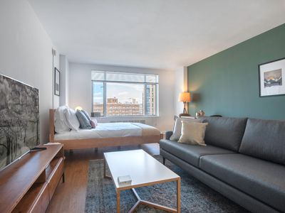 Photo for Cozy Dupont Circle Studio w/ Gym, Doorman, near 14th St. by Blueground