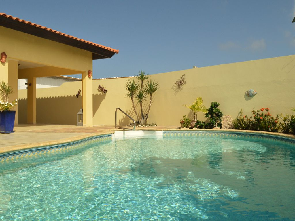 Villa opal your dream house on aruba walking distance for Villas opal