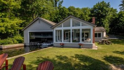 Photo for Exceptional Lake House With Luxury Amenities & Boathouse