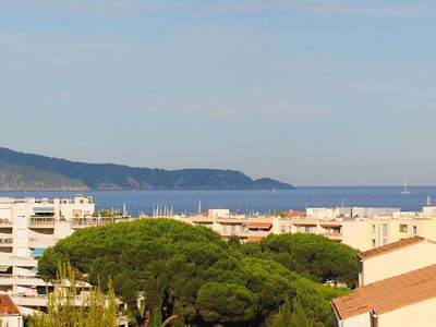 Photo for T3 / 4, bright, wide sea view, 2 large terraces, not overlooked, everything on foot