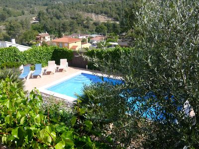 Photo for Spacious villa with large swimming pool close to Sitges and Barcelona