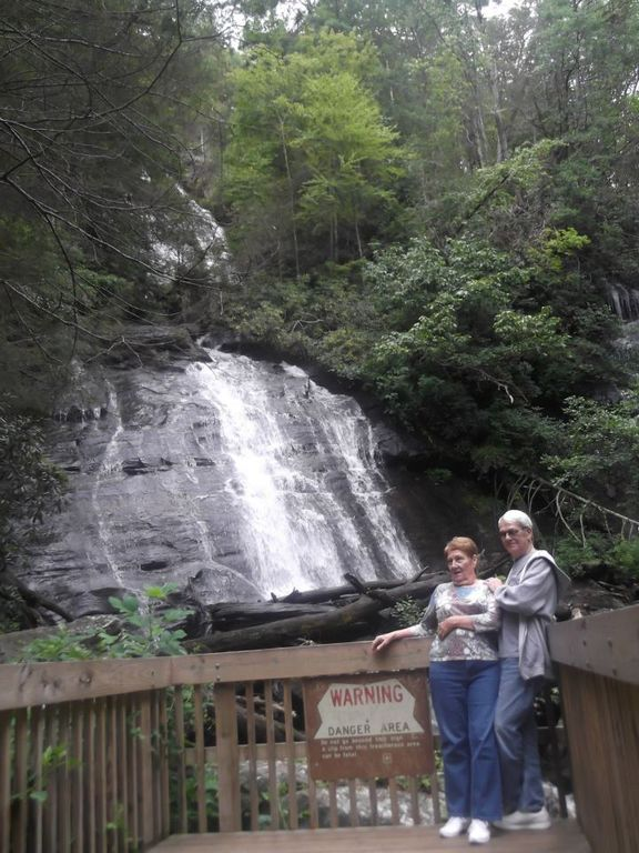 Spectacular Anna Ruby Falls lies in the heart of the Chattahoochee