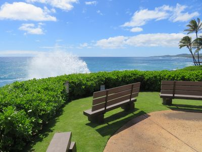 Photo for POIPU 2BR/2BA - Makahuena #4205 Oceanfront with A/C