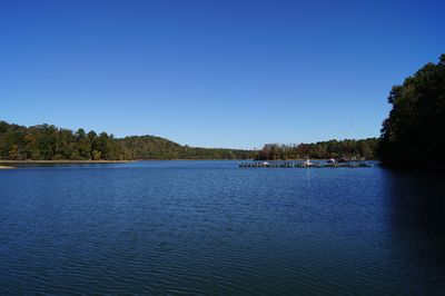 Lake Hartwell right in your back yard! Incredible views from this quiet cove.