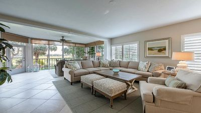Photo for 3 BR, 3 BA Condo in Bonita Bay Club. First floor, end unit. Great Location