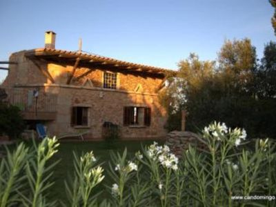 Photo for House of character in an authentic Majorcan finca (farm) 3 km from the beautiful beach of Es trenc
