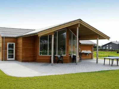 Photo for Spacious Holiday Home in Ansager near Lake