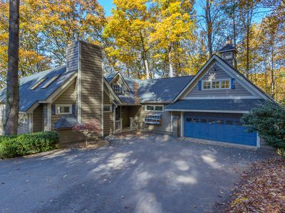 Photo for NEW! Luxe Flat Rock Home w/ Treehouse & Mtn Views!