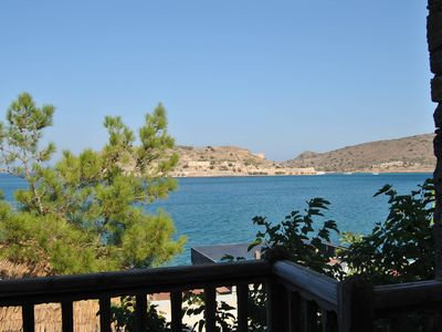 Photo for Cozy House On The Sea In Front Of 'The Island Spinalonga'