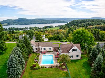 Photo for New for 2019~HEATED POOL~Otsego Lake View~Sleeps 13!