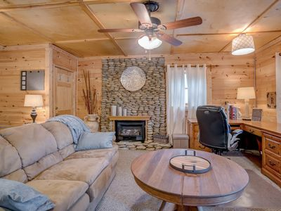 Photo for Studio R, Cabin, Getaway, 5 minutes to Tryon Resort (TIEC), Gated Community