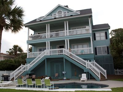 Beautiful Oceanfront Home with Heated Pool