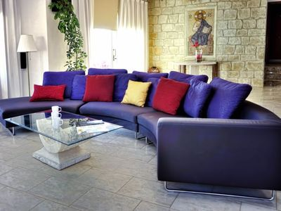 Photo for Vacation home Dionysos Deluxe Villa in Sea Caves-Peyia - 10 persons, 5 bedrooms