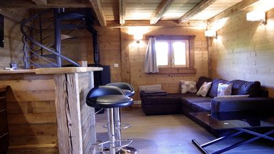 Photo for Charming cottage between the lake and fully equipped mountain