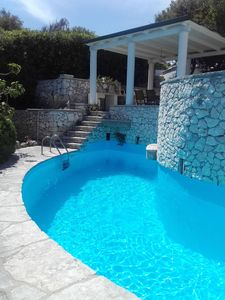 Photo for Villa's dependance with pool and sea view  Relax at only 10 km away from Otranto