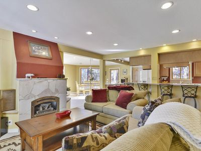 Photo for Winter Chalet Tucked Away in Squaw Valley. PRIVATE Hot Tub and Breathtaking Mountain Views. Only 1 Mile from Squaw's Village with Live Music and Great Restaurants.