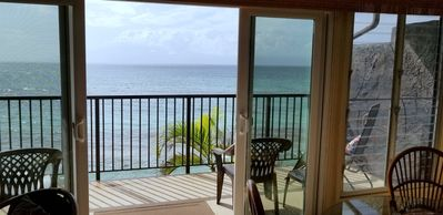 Photo for Like Sleeping on the Beach! - DISCOUNT DURING SEAWALL REPAIR- 2 Bdrm Ocean View!
